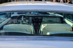 Helsingfors Finland gammal bil Buick Riviera Fotografering för Bildbyråer