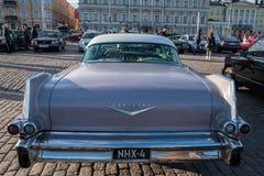 Helsingfors Finland gammal bil Cadillac Arkivbilder