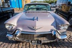 Helsingfors Finland gammal bil Cadillac Royaltyfria Bilder