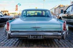 Helsingfors Finland gammal bil Cadillac Arkivfoto