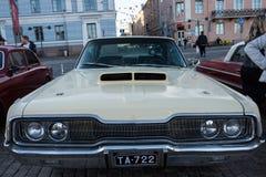 Helsingfors Finland gammal bil Dodge Arkivfoton