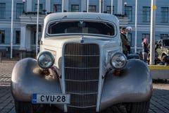 Helsingfors Finland gammal bil Ford Royaltyfri Bild