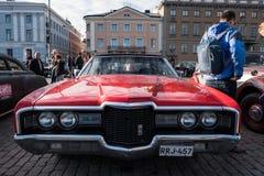 Helsingfors Finland gammal bil Ford Royaltyfria Foton