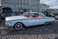 Helsingfors Finland gammal bil Ford Starliner Royaltyfri Bild