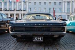 Helsingfors Finland gammal bil Plymouth Arkivfoton