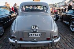 Helsingfors Finland gammal bil Rover Royaltyfria Foton