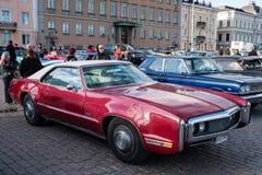 Helsingfors Finland gammal bil Toronado Fotografering för Bildbyråer