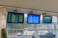 HELSINGFORS FINLAND - OKTOBER 27: terminallätthet av färjaföretaget Silja Line i Helsinkii, Finland OKTOBER 27 2016 Royaltyfri Bild