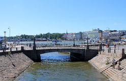 Helsingfors panorama Arkivbilder