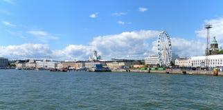 Helsingfors panorama Royaltyfri Foto