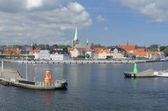 Helsingoerhaven stock fotografie