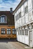 Helsingor παλαιά κτήρια στοκ φωτογραφία