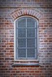 Helsingor asó a la parrilla la ventana Foto de archivo libre de regalías