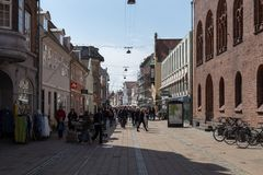 Helsingor City Centre Royalty Free Stock Images