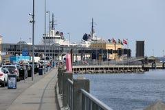 Helsingor, Denemarken - Veerboot aan Zweden Royalty-vrije Stock Afbeeldingen