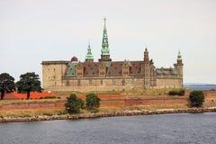 Helsingor, Denemarken - Vesting Kronborg Royalty-vrije Stock Afbeeldingen