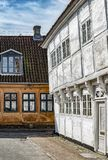 Helsingor gamla byggnader arkivbild