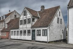 Helsingor gammal byggnad Royaltyfri Foto