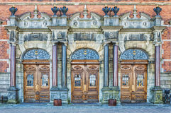 Helsingor Grand Station Entrance Royalty Free Stock Photo