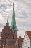 Helsingor helgon Olaf Church arkivbilder