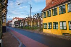 Helsingor i Danmark royaltyfria bilder