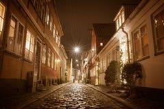 Helsingor at night Royalty Free Stock Image
