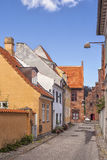 Helsingor townhouses Royalty Free Stock Photography