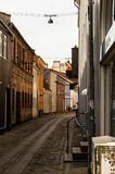 Helsingor ulica obrazy royalty free