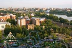 helsinki над взглядом Стоковые Фото