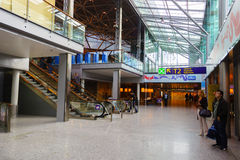 Helsinki Airport interior Royalty Free Stock Images