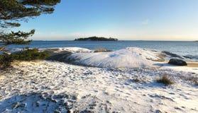 Helsinki Archipelago panorama Royalty Free Stock Image