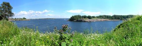 Helsinki archipelago Royalty Free Stock Photo