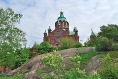 Helsinki, Assumption Cathedral Stock Photos