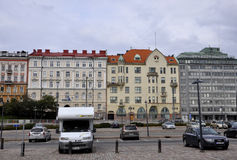 Helsinki,august 23 2014-Historic building from Helsinki in Finland royalty free stock image