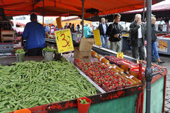 Helsinki,august 23 2014-Market from Helsinki in Finland royalty free stock photos