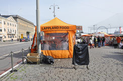 Helsinki,august 23 2014-Market view from Helsinki in Finland stock photography