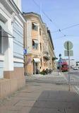 Helsinki,august 23 2014-Street view from Helsinki in Finland Stock Photos