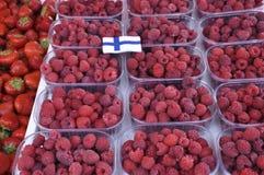 Helsinki, 23 augustus 2014-markt van Helsinki in Finland Stock Afbeeldingen