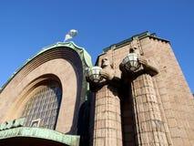 Helsinki-Bahnhof Stockfoto