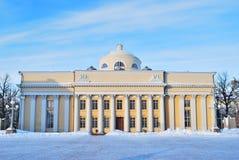 Helsinki. Biblioteca de universidad Imagen de archivo