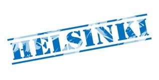 Helsinki blue stamp Stock Photography