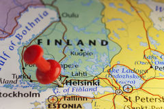 Helsinki capital city of Finland Stock Photo