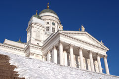 Helsinki cathedra Royalty Free Stock Images