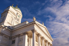 Helsinki cathedral Royalty Free Stock Images