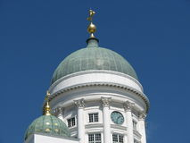 The Helsinki cathedral Stock Image