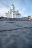 Helsinki cathedral, copyspace Royalty Free Stock Images