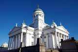 Helsinki Cathedral detail Royalty Free Stock Photo