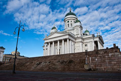 Helsinki cathedral details Royalty Free Stock Photo