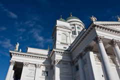 Helsinki cathedral details Royalty Free Stock Photos