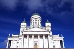 Helsinki Cathedral royalty free stock photography